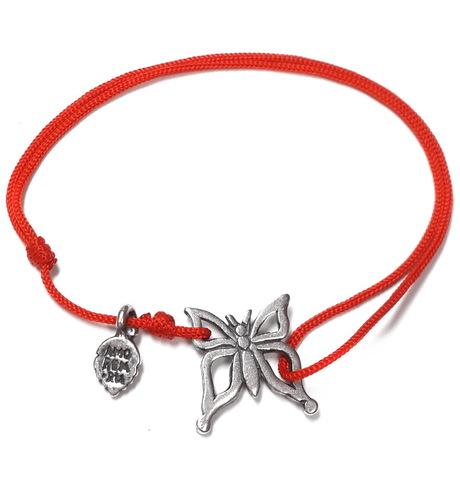 Butterfly bracelet, sterling silver