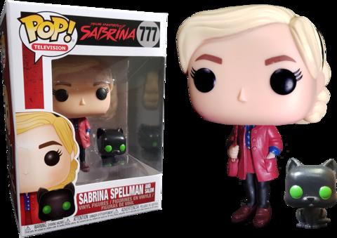 Фигурка Funko Pop! TV: Chilling Adventures of Sabrina - Sabrina Spellman with Salem