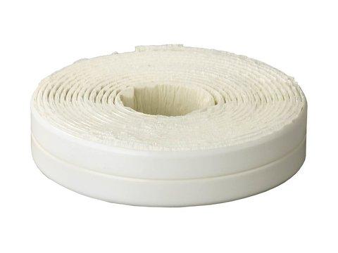 Лента бордюрная для ванн и раковин, STAYER Profi 12341-11-11, самоклеящаяся, профиль L, цвет белый, 11 х 11мм х 3,35м