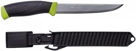 Нож рыболовный в пластиковых ножнах Morarniv Fishing Comfort Scaler 150, арт. 11893