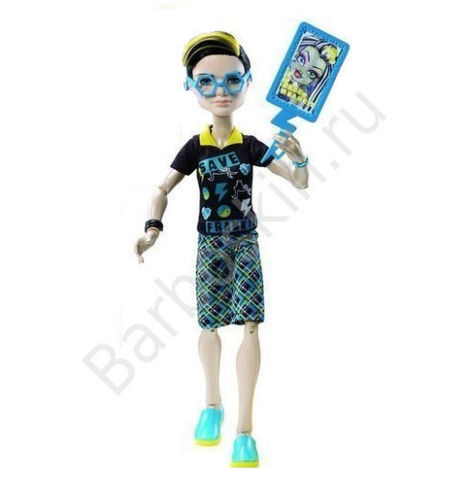 Кукла Monster High Джексон Джекил (Jackson Jekyll) - Безумный микс (Freaky Fusion)