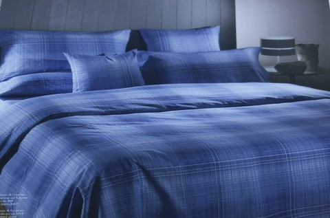 Постельное белье 1.5 спальное Caleffi Regent серое