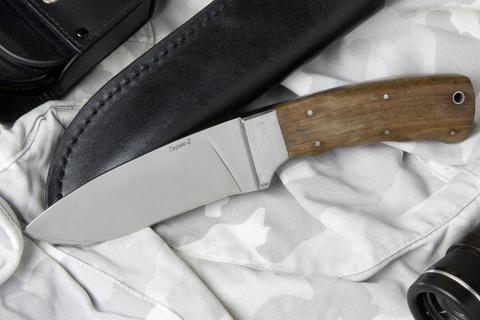 Туристический нож Терек-2 Полированный Орех