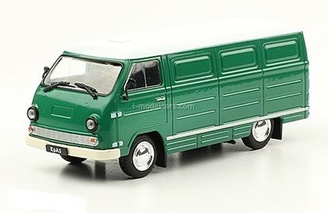 ERAZ-762V green-white 1979-1996 1:43 DeAgostini Auto Legends USSR #241