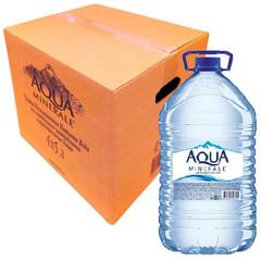 Вода питьевая Аква Минерале ПЭТ 5,0л негаз. 4 шт/уп