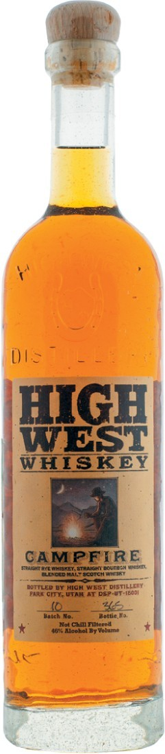 Хай Вест Кампфайр, купажированный  виски 0,7л
