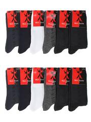 5301 носки мужские 42-48 (12шт.), цветные