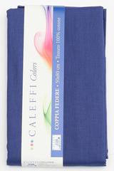 Наволочки 2шт 70х70 Caleffi Tinta Unita темно-синие