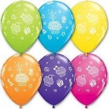 """Воздушные шары """"Кексы и подарки"""""""