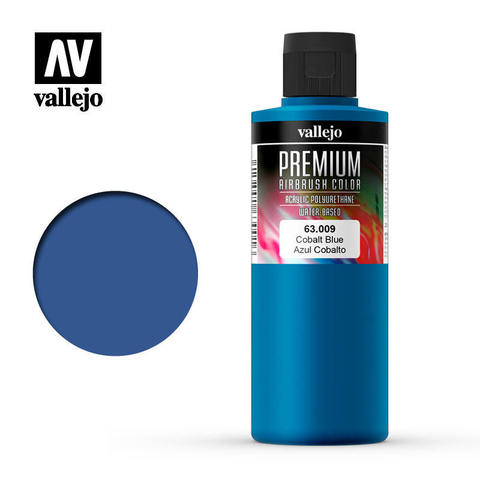 Premium Airbrush Cobalt Blue 200 ml.