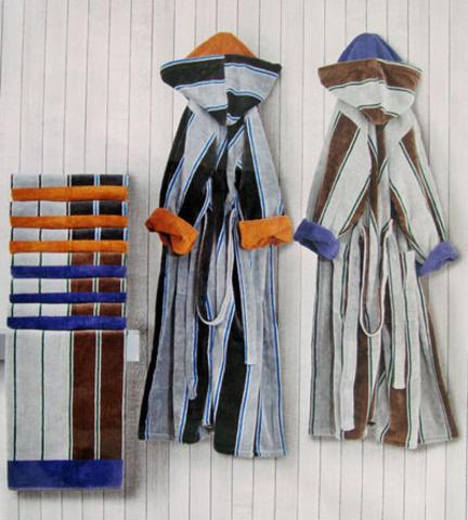 Набор полотенец 2 шт Carrara Colledge серый