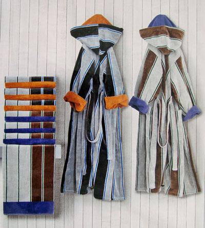 Наборы полотенец Набор полотенец 2 шт Carrara Colledge серый nabor-italyanskih-polotenec-colledge-ot-carara.jpg