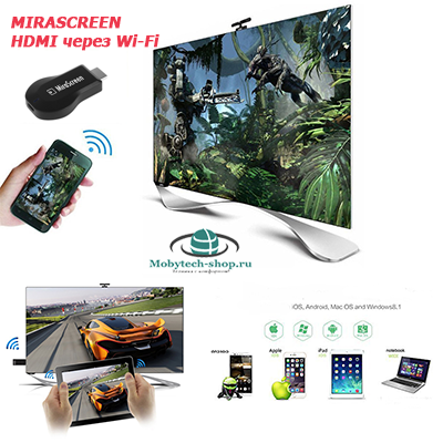 Miracast Windows/iOS/Android/DLNA