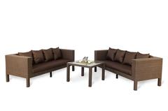 Комплект плетеной мебели Вермонт №5 Big