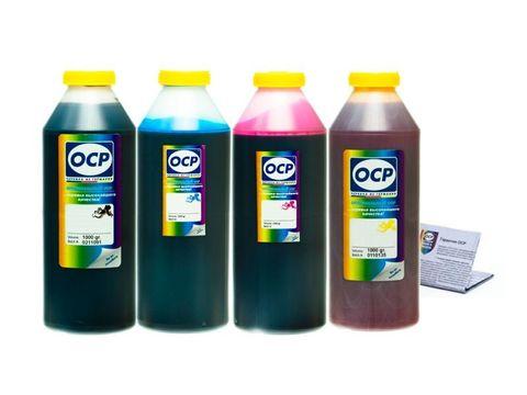 Комплект чернил OCP для картриджей HP 10/11 (HP K550, K5400 и др.) (OCP BKP 249, C/M/Y 126) 1000 gr x 4
