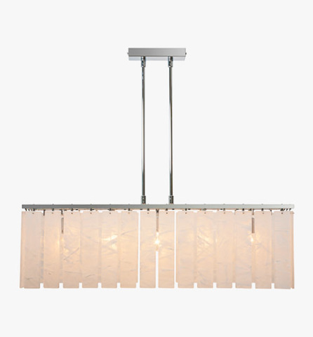 replica light  PARK LANE RECTANGULAR CHANDELIER by BELLA FIGURA