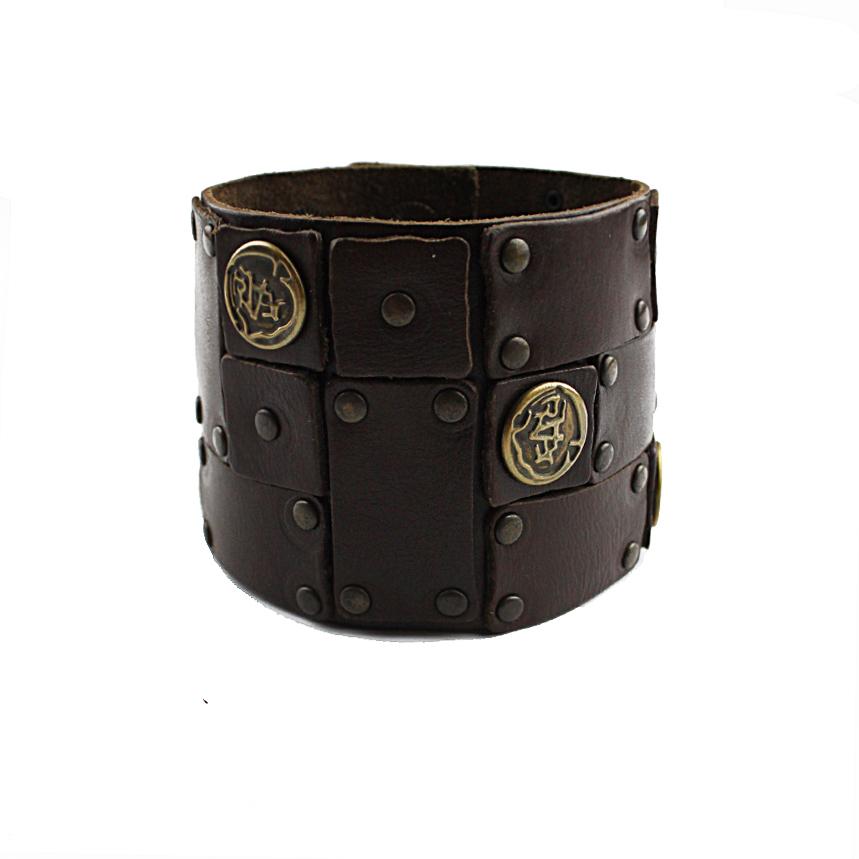 Кожаный браслет TRONIN PR-609BR