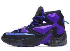 Мужские Кроссовки Nike Lebron XIII Black Violet