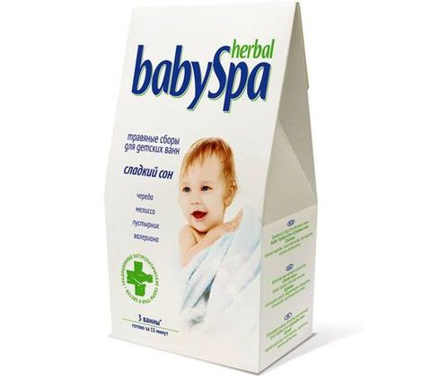 Herbal Baby Spa. Травяной сбор Сладкий сон 45 г