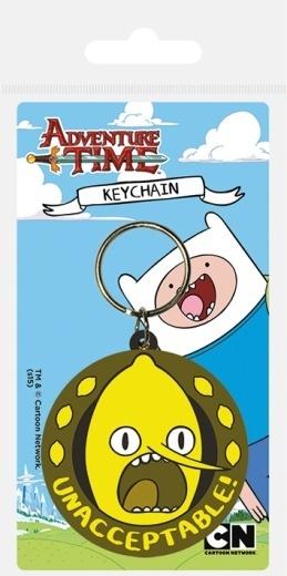 Брелок силиконовый Adventure Time Лимонхват
