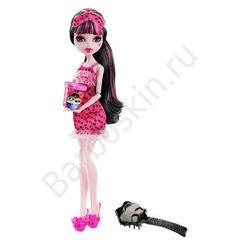 Кукла Monster High Дракулаура (Draculaura) - Пижамная вечеринка или Смертельно уставшие