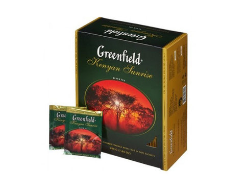 Greenfield Kenyan Sunrise, 100 пак/уп