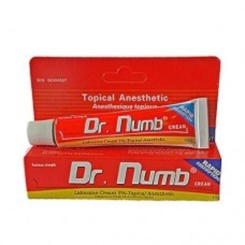 Обезболивающий крем  DR. NUMB красный 10 МЛ