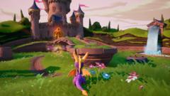 Sony PS4 Spyro Reignited Trilogy (английская версия)