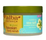Гавайский скраб для тела с морской солью, Alba Botanica
