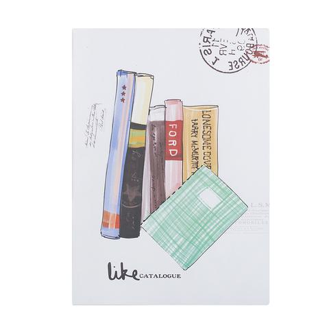 Блокнот Bookstore green, 60 листов
