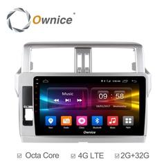 Штатная магнитола на Android 6.0 для Toyota Land Cruiser Prado 13-17 Ownice C500+ S1614P