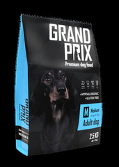 Сухой корм для взрослых собак средних пород, Grand Prix Medium Adult