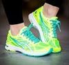 Женские кроссовки для бега Asics Gel-DS Trainer 20 (T578N 0701) желтые фото