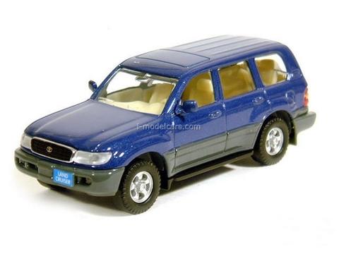 Toyota Land Cruiser VX.R 1998 blue Yatming 1:43