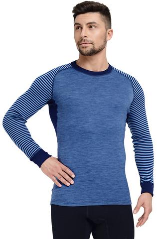 Термобелье футболка мужская Norveg Climate Control (blue)