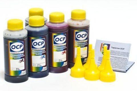 Комплект чернил OCP для картриджей HP 178, HP 178XL 5 x 100 мл  (BKP249, BK143, C143, M143, Y143)