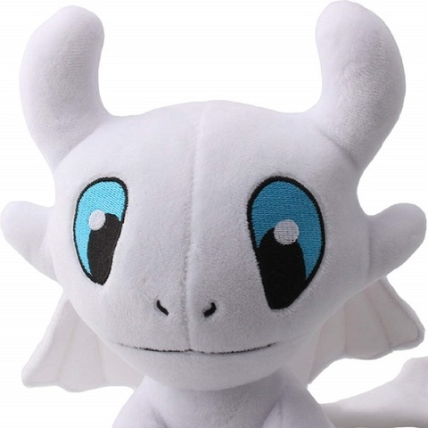Как приручить дракона мягкая игрушка Дневная фурия белый дракон