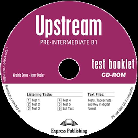 UPSTREAM PRE-INTERMEDIATE TEST BOOKLET CD-ROM
