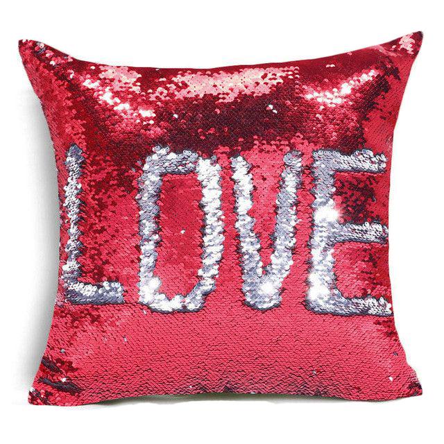 Каталог Подушка с пайетками  Magic Pillow pillow_magik_red_love.jpg