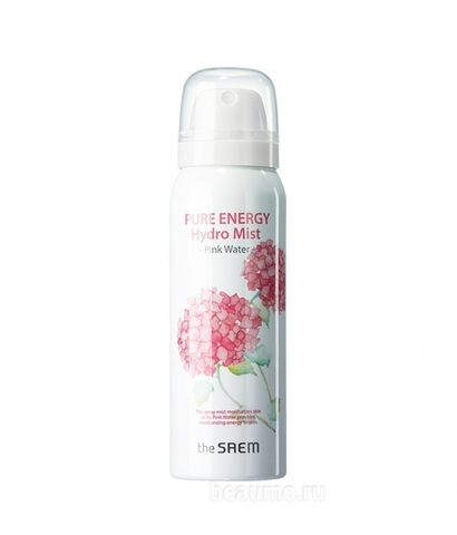 SAEM Pure Energy Спрей для лица Pure Energy Hydro Mist -Pink water 50мл