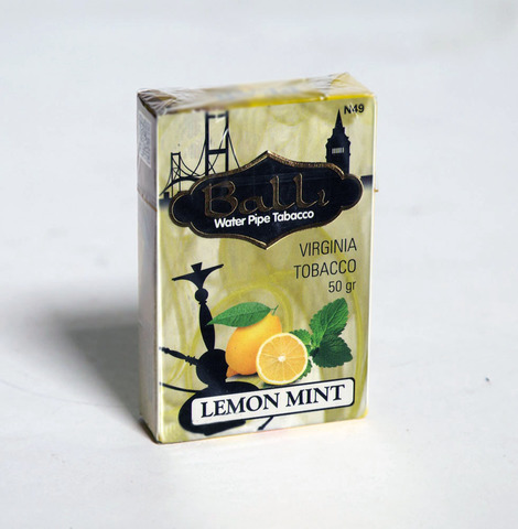 Табак Balli Lemon Mint 50 г