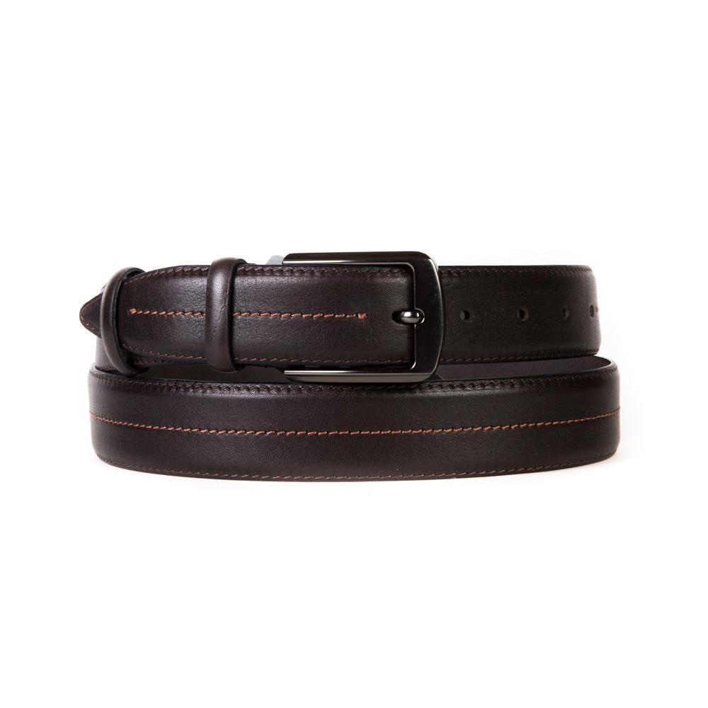 Ремень Doublecity RC35-37-01 тёмно-коричневый