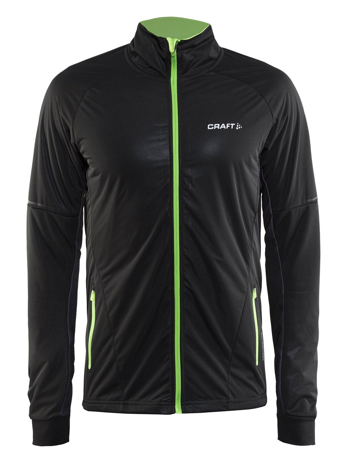 Мужская лыжная куртка Craft Storm 2.0 1904258-9091 черна