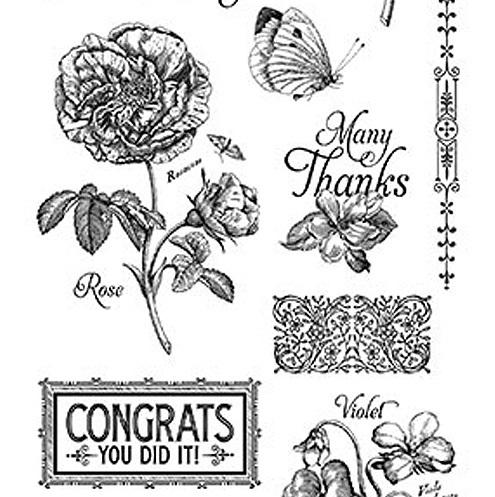 Штамп Time to Flourish 2, Graphic45