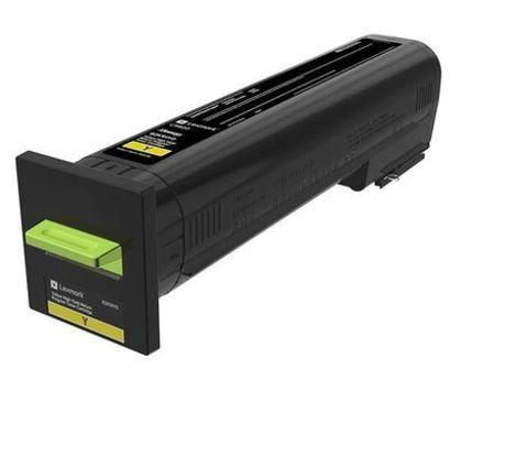 Картридж повышенной емкости для принтеров Lexmark CX825/CX860 голубой (cyan). Ресурс 22000 стр (82K5XC0)