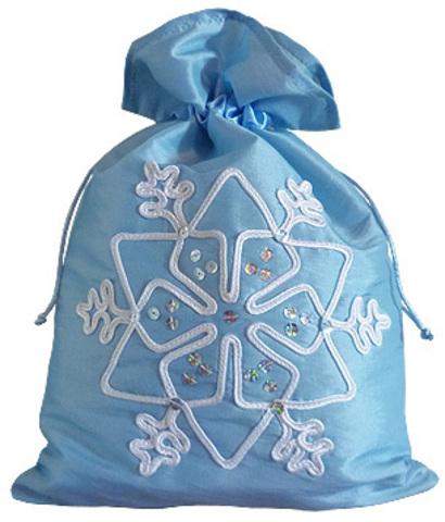 Сумочка для костюма Снегурочки