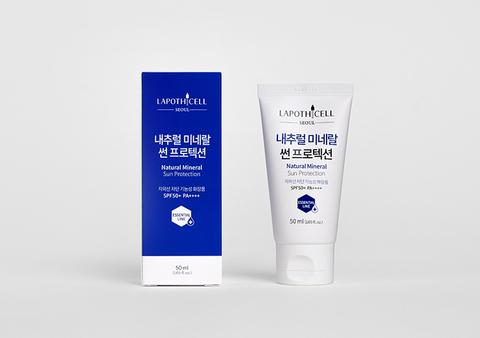 Солнцезащитный крем с минеральными фильтрами, 50 мл / Lapothicell Natural Mineral Sun Protection SPF50PA++++