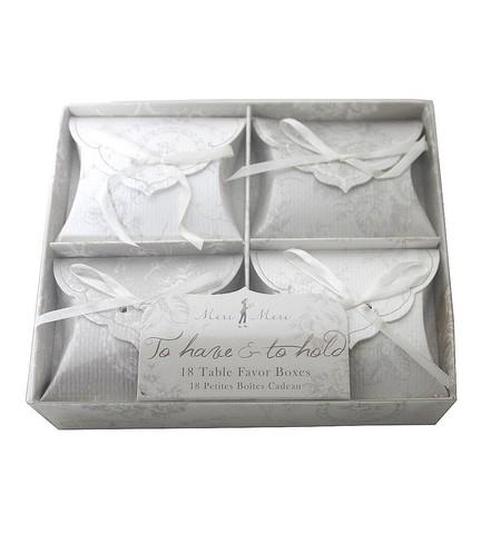 Набор коробочек для подарков гостям