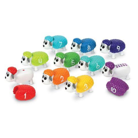 Игровой набор Разноцветные овечки Learning Resources