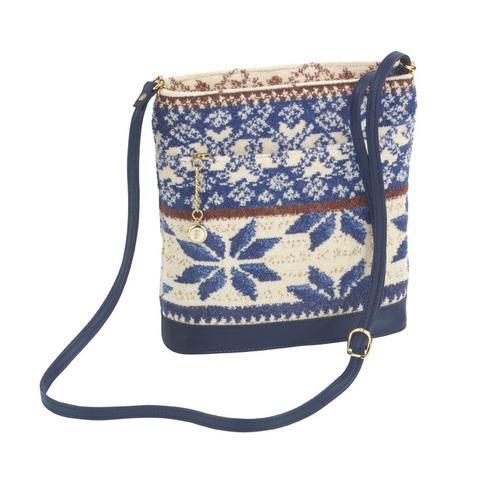 Элитная сумка шенилловая Baltic Blue ТА09 от Feiler